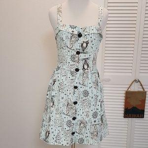 Modcloth Sailor Jerry dress